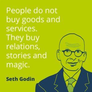 «Πουλήστε ιστορίες και μαγεία!»